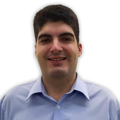 Foto de rosto do sócio Michel Menaei sorrindo